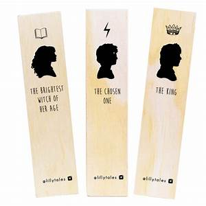 THE CORE THREE - Harry Potter bookmark range Nook & Burrow