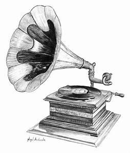 Phonograph | graphique | Pinterest | Phonograph, Tattoo ...