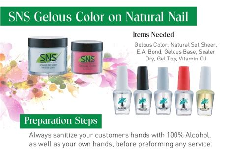 Sns Gelous Color Real Nail