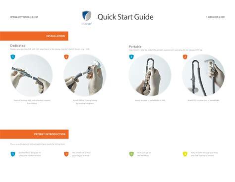 Quick Start Guide Dryshield