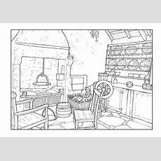 Dibujo Para Colorear Salón Del Siglo 18  Img 9895