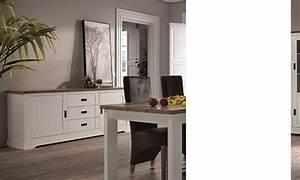 Bahut Bois Blanc : buffet bahut couleur bois blanc et clair contemporain jackson ~ Teatrodelosmanantiales.com Idées de Décoration