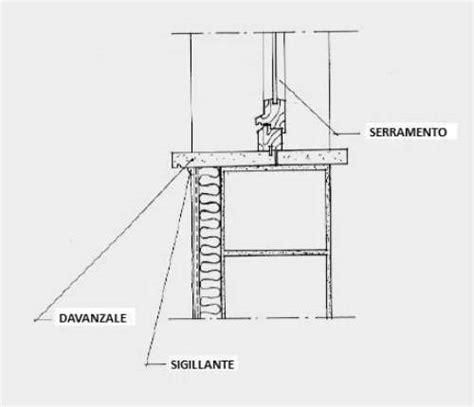 Altezza Davanzale Finestra by Sistema Di Montaggio Con Particolari Di Un Cappotto