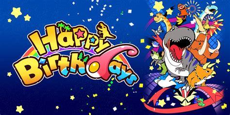 happy birthdays nintendo switch games nintendo