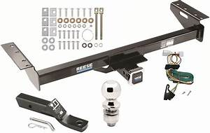 1997-2001 Jeep Cherokee Complete Trailer Hitch Package W   Wiring Kit Class 3 New