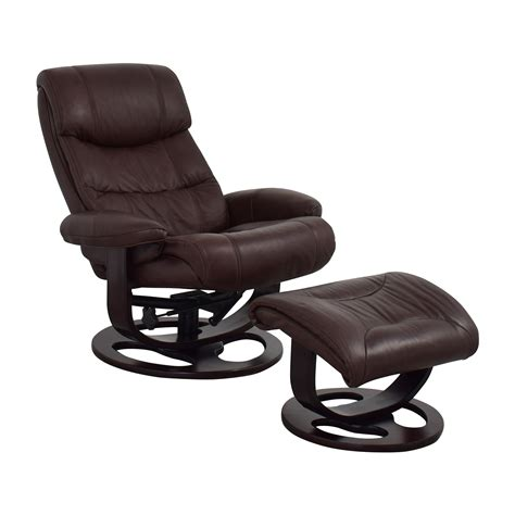 tan leather chair and ottoman 59 off macy 39 s macy 39 s aby brown leather recliner chair