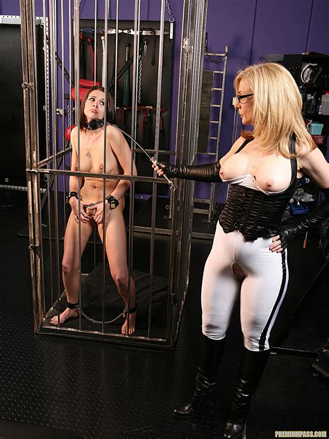 Nina Hartley Punishing Adana For Bad Behavior 56124