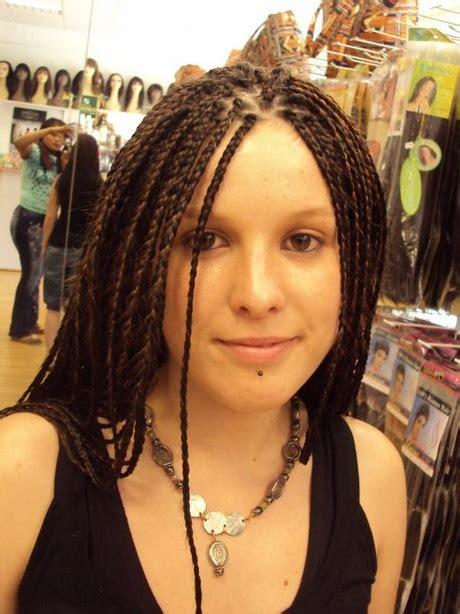 coiffure grosse tresse africaine