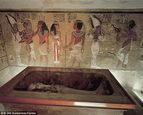 King Tutankhamun Tomb's Hidden Chamber Discovered Through