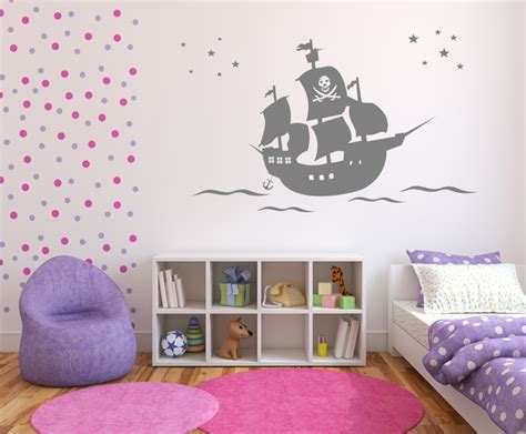 Wandtattoo Kinderzimmer Anker by Piratenschiff Mit Anker 327 Wandsticker Wandtattoos