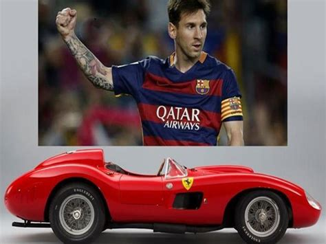 Last week we learned that a certain 1957 ferrari 335 s spider scaglietti was sold at the paris retromobile auction to none other than international soccer star (ok, football for everyone else who's not american) lionel messi. Bộ sưu tập siêu xe của Messi: Những xế hộp hàng triệu đô