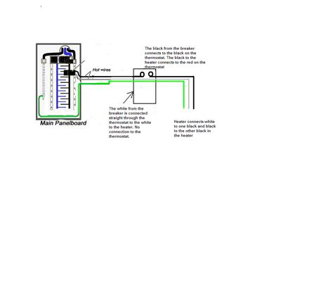 wiring diagram for electric baseboard heater the wiring