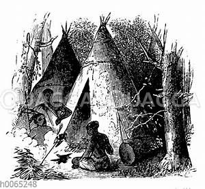 Zelt Der Indianer : indianer bildkategorie quagga illustrations bilddatenbank ~ Watch28wear.com Haus und Dekorationen
