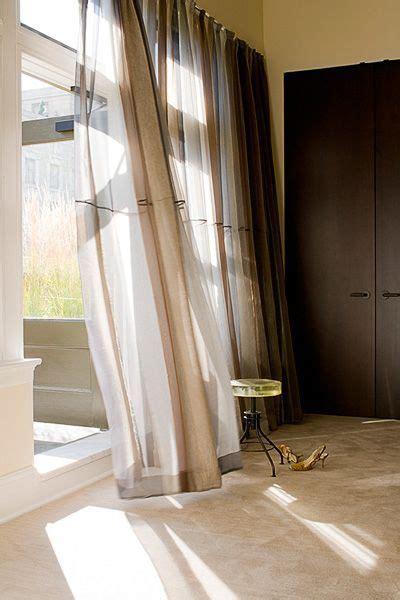 window treatments floor length mohair  silk bergamo curtains light shadow living