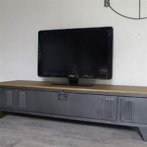 Idee Meuble Tv Fait Maison : fabriquer meuble tv diy 4 meuble tv meuble tv industriel meuble tv et meuble tv style ~ Melissatoandfro.com Idées de Décoration