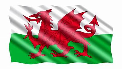 Flag Dragon Welsh Wales Fabric Ancient Bandera