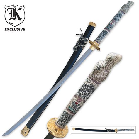 sword of the samurai katana sword budk com