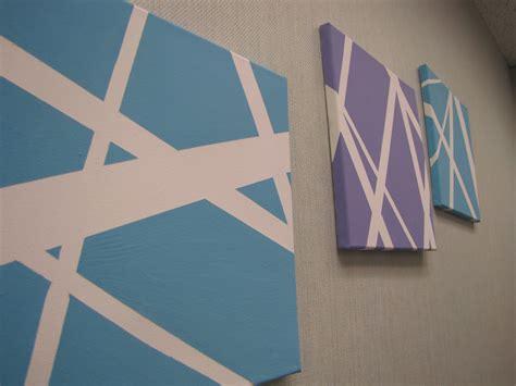 Washi Tape Kitchen Cabinets by Diy Canvas Wall Art Erindotmcintosh