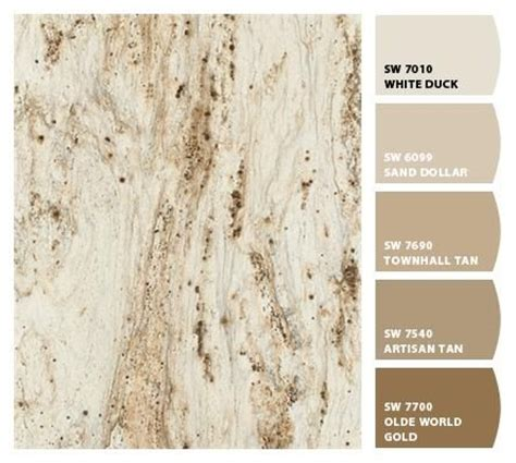 river gold formica countertop showroom color palette