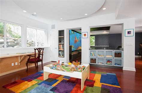 40523 unfinished basement playroom ideas transforming your basement room into playroom why
