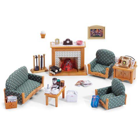 calico critters deluxe living room set walmartcom
