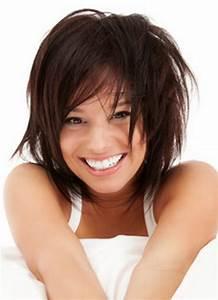Coupe Degrade Femme : coiffure femme brune mi long ~ Farleysfitness.com Idées de Décoration