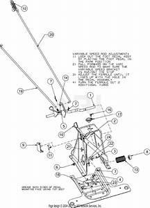 Troy Bilt Tb30r  13cc26jd011   2016  Parts Diagram For Pedals
