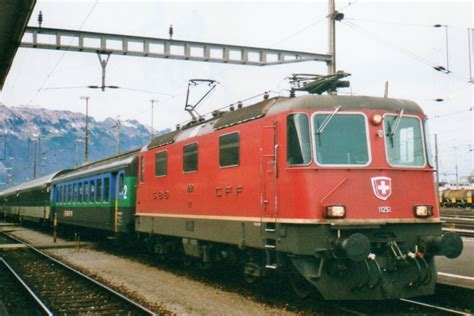 Scanned Picture Of Sbb 11252 In Buchs Sg On 25 May 2002