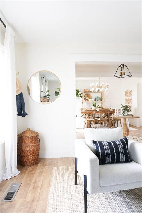 A fresh global inspired living room Living room on a