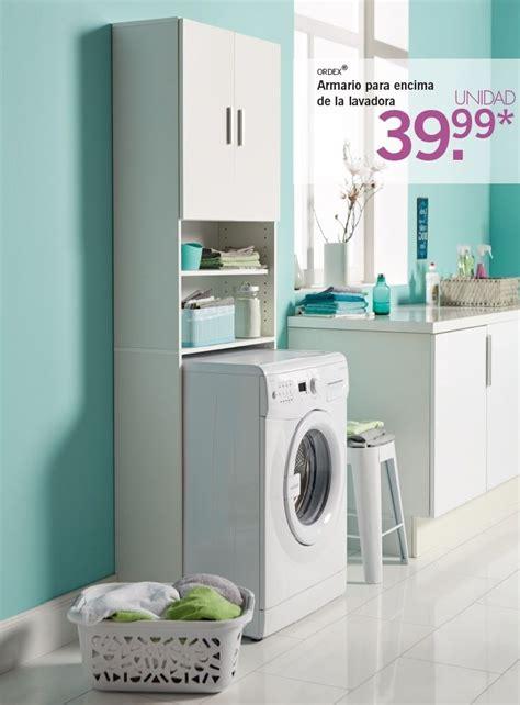 ordex armario  encima de la lavadorasecadora