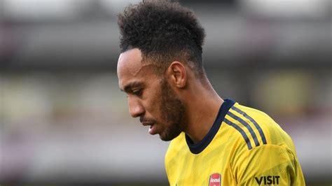 Arsenal forward Pierre-Emerick Aubameyang's red card ...