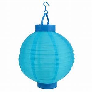 Lampions Mit Led : lampion led mit solar 20cm blau preiswert online kaufen ~ Watch28wear.com Haus und Dekorationen