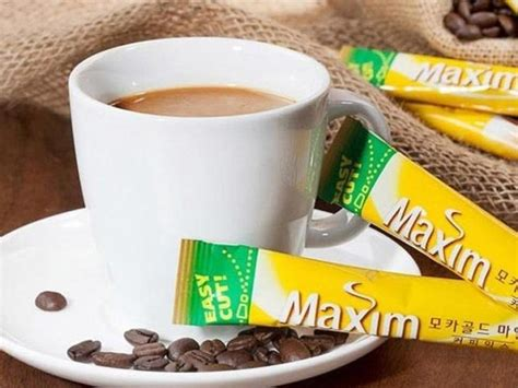 Add 2 packs to make it tastier. Maxim, Mocha Gold Mild Coffee Mix Nutrition Facts - Eat ...