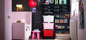 Rangement Chambre Enfant Ikea : rangements astucieux pour chambre d enfant ~ Teatrodelosmanantiales.com Idées de Décoration