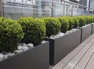 jardiniere balcon originale support et balconniere en 42 With grande jardiniere pour terrasse
