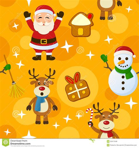 yellow soft christmas gift yellow seamless pattern stock vector illustration of rudolph 35411648