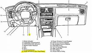 I Have A 1998 Subaru Legacy Outback The Power Window Relay