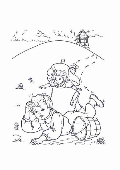 Nursery Rhymes Coloring Printable Pages Colouring Sheets