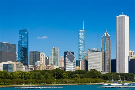 Free Chicago Photo by Chicago Skyline Free Stock Photo Domain Pictures