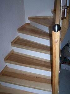 Holz Treppenstufen Erneuern : treppenstufen aus dunklem holz ~ Markanthonyermac.com Haus und Dekorationen