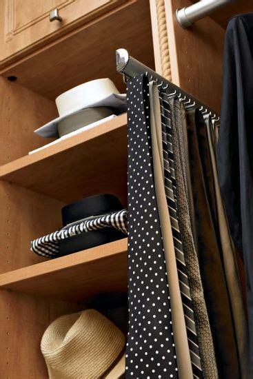 California Closet Tie Rack brushed chrome tie rack inspiration california closets