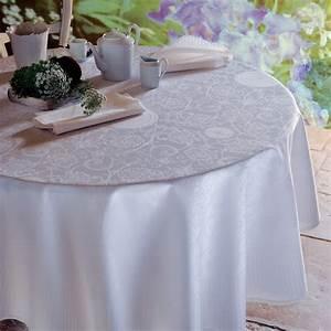 Nappe Rose Pale : linge de table haut de gamme garnier thiebaut ~ Teatrodelosmanantiales.com Idées de Décoration