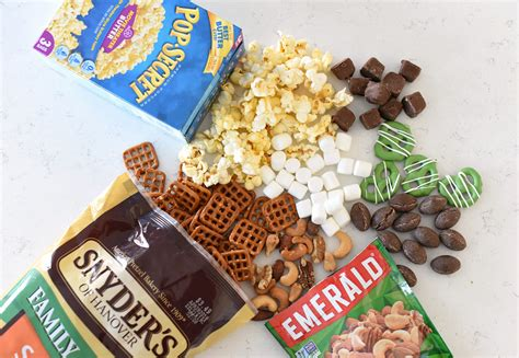winning game day snacks football party mix fun squared