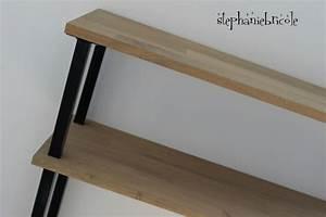 Modele De Table Basse A Faire Soi Meme : diy d co faire un meuble console au style industriel soi m me rapide et pas cher st phanie ~ Melissatoandfro.com Idées de Décoration
