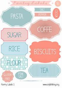 kitchen pantry labels on pinterest pantry labels With kitchen colors with white cabinets with how to print labels on sticker paper