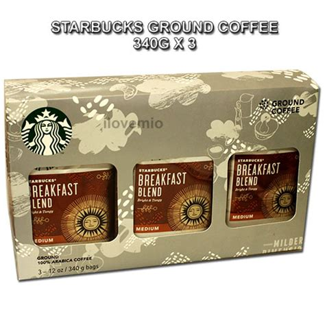 Instant coffee products contain powdered coffee derived from brewed coffee beans that instantly dissolve in water. Starbucks Ground Coffee 3pack Breakfast Blend Medium 340gx3 100% Arabica Coffee   eBay
