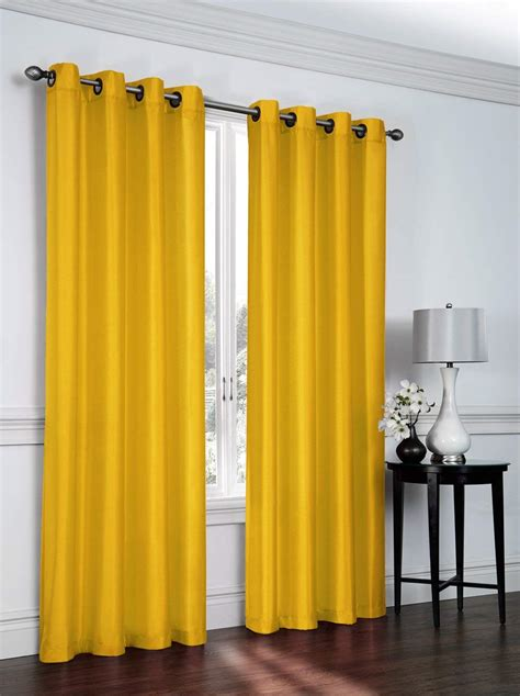 beautiful yellow mustard curtains sale ease bedding with style
