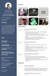 Cameraman Resume Model by 233 Diteur Vid 233 O Exemple De Cv Base De Donn 233 Es Des Cv De Visualcv