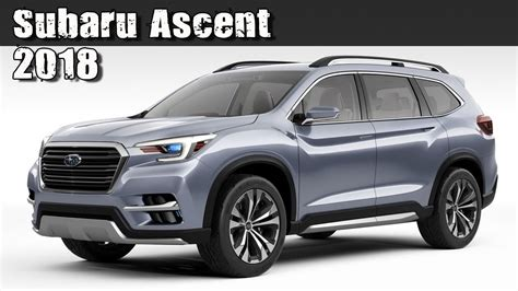 All New 2018 Subaru Ascent Pre-production Concept (3-row 7