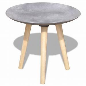 vidaxl two piece side table coffee table set 55 cm44 cm With two piece coffee table